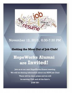 Getting the Most Out of Job Club!